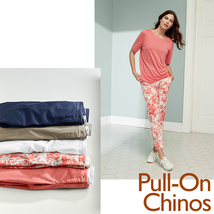 Pull-On Chinos