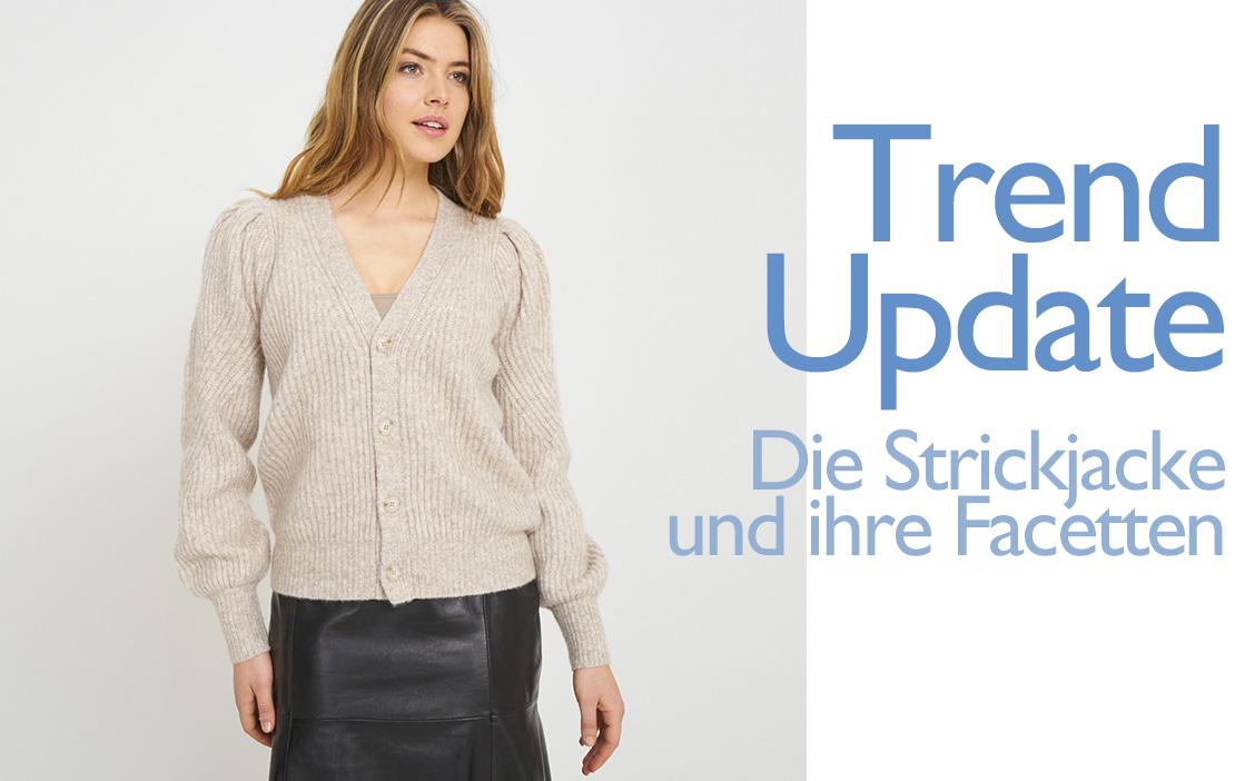 Trend Update Strickjacke für Damen