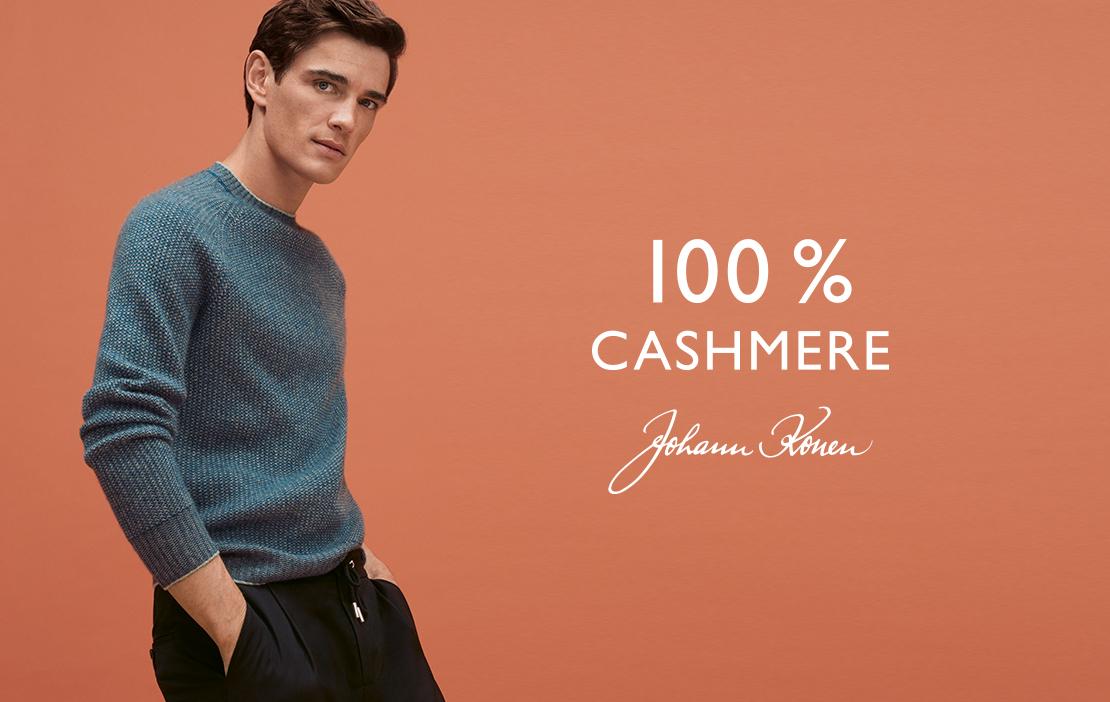 100% Cashmere Johann Konen Herbst/Winter 2019