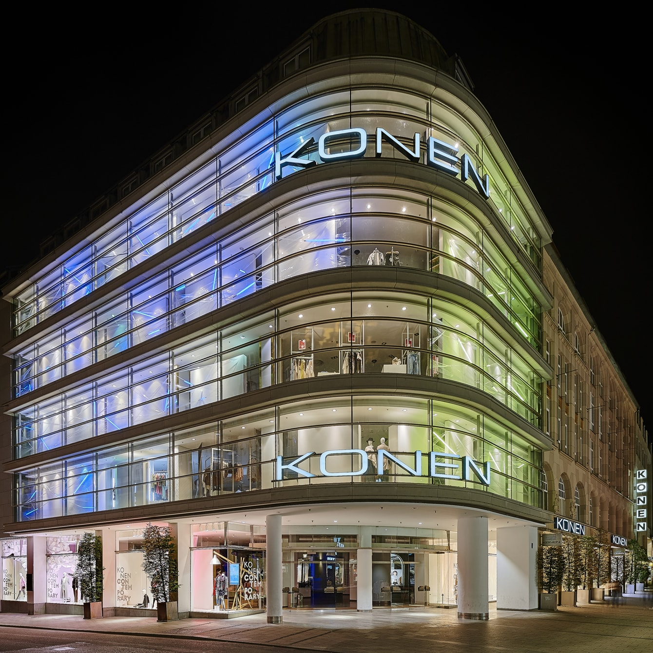 Anfahrt & Öffnungszeiten KONEN Ihr Modehaus in München