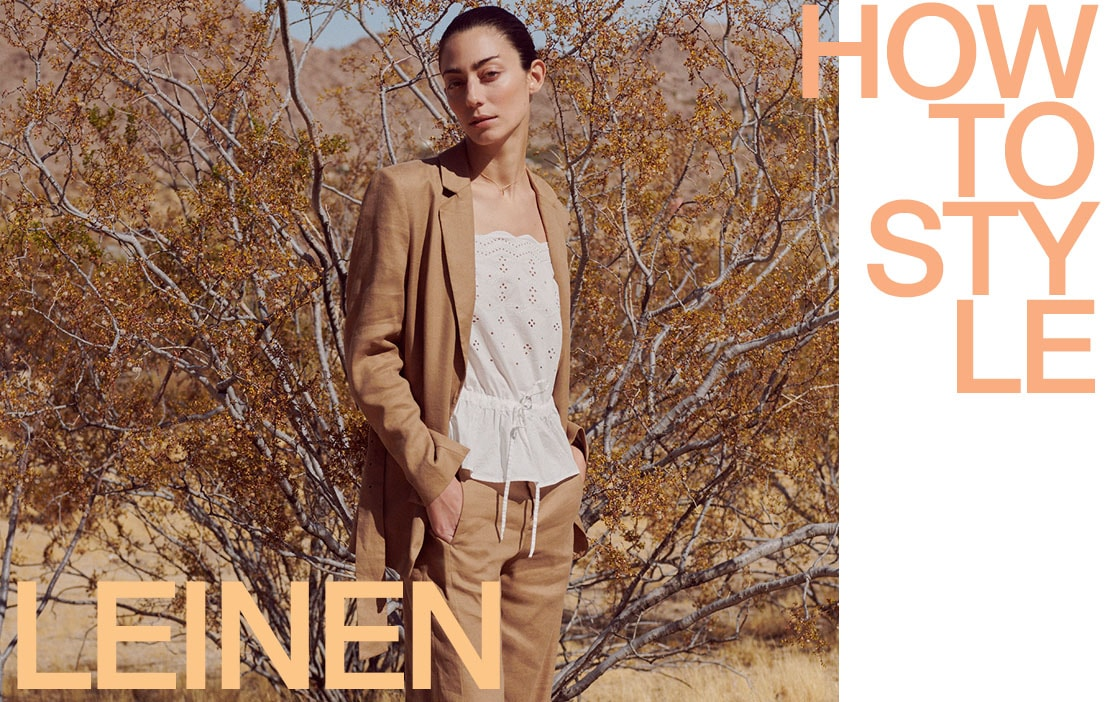 How to style Leinen