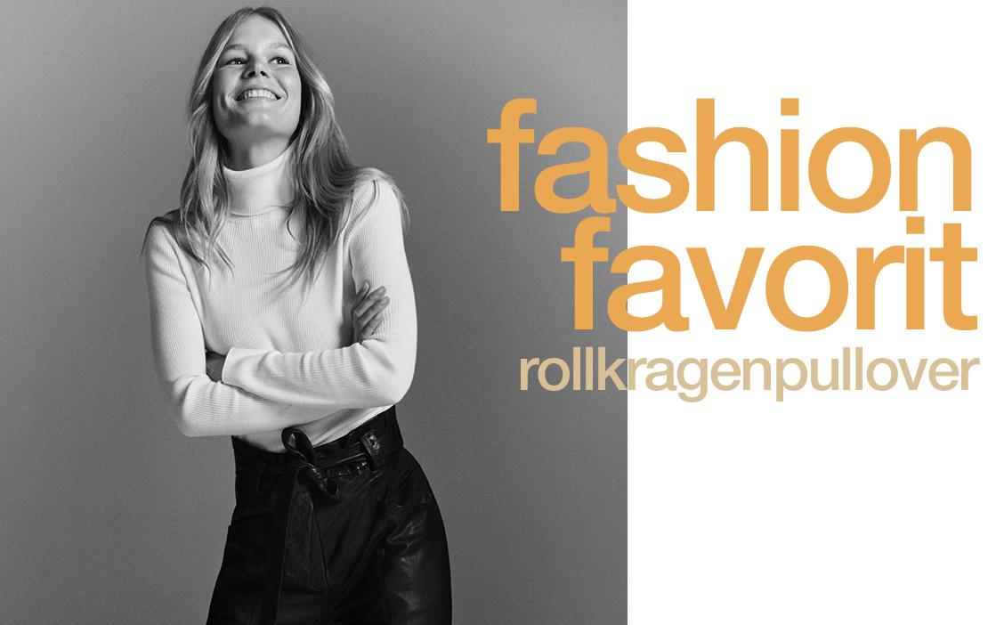 Fashion Favorit Rollkragen für Damen