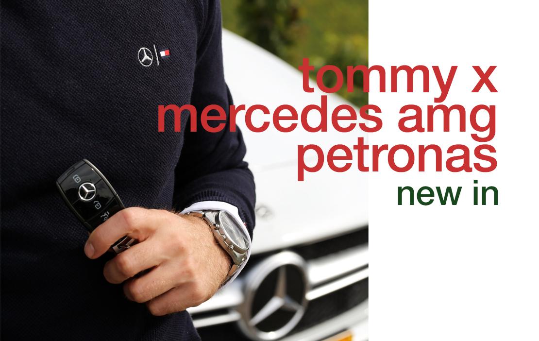 TOMMY X MERCEDES AMG PETRONAS