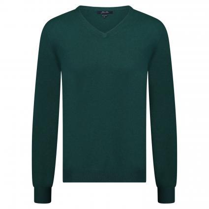 Strickpullover aus Cashmere grün (FX22280 dark green) | XL