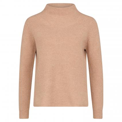 Pullover aus Merinowolle camel (malt) | XL