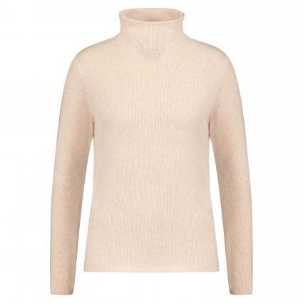 Pullover aus Cashmere  beige (sand mel.) | L