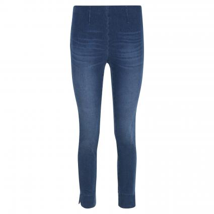Slim-Fit Hose 'Sabrina' in Denim-Optik blau (858 moonlight blue) | 42