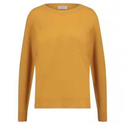Pullover mit Rundhalsausschnitt gelb (1211 curry)   38