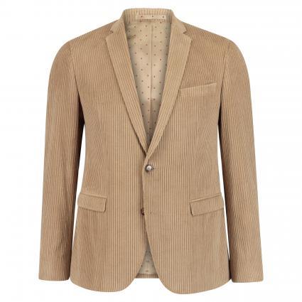 Modern-Fit Cord-Sakko 'Jones' beige (220) | 50