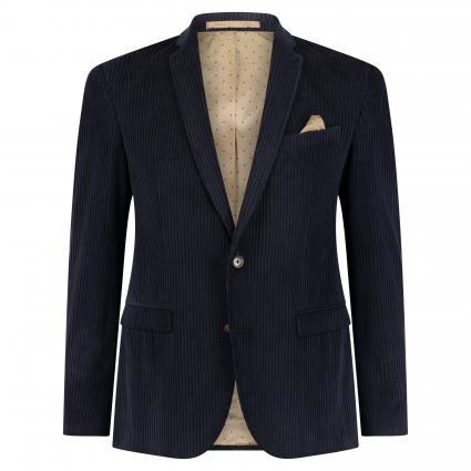 Modern-Fit Cord-Sakko 'Jones' blau (590) | 48