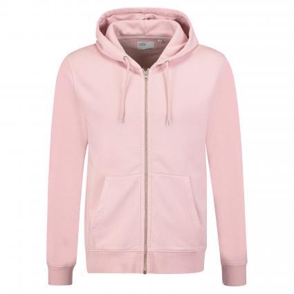 Sweatshirtjacke mit Kapuze pink (fasded pink) | L