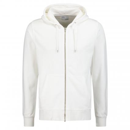 Sweatshirtjacke mit Kapuze weiss (optical white) | XL