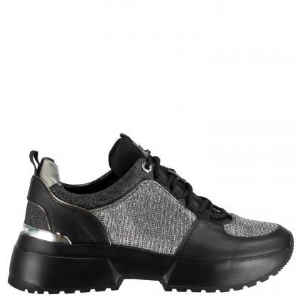 Sneaker 'Cosmo' mit Glitzerdetail schwarz (BLK/SILVER)   7,5