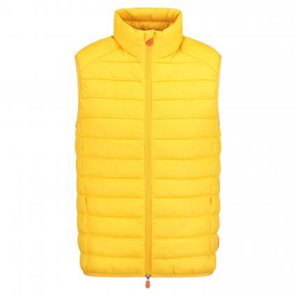 Weste mit Stehkragen  gelb (01484 chrome yellow) | XL