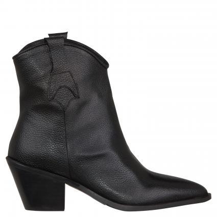 Stiefeletten 'Fannie' im Cowboy-Style schwarz (BLACK) | 37