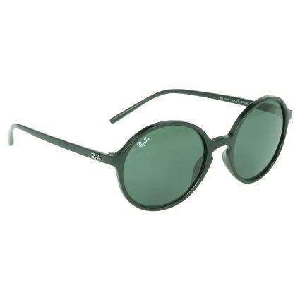 Sonnenbrille mit runden Gläsern schwarz (601/71) | 0