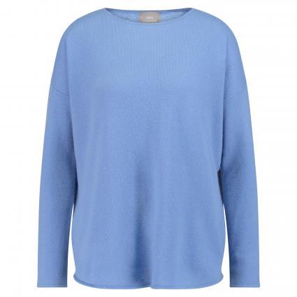 Oversize-Pullover 'Claire' aus Cashmere blau (blue) | XL