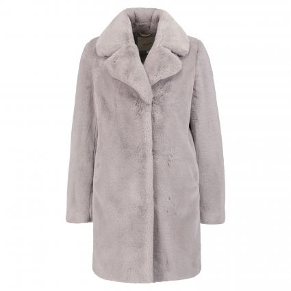 Manteau en fourrure synthétique gris (170 grau) | 36