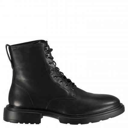 Schnürstiefel aus Leder schwarz (999 black) | 43