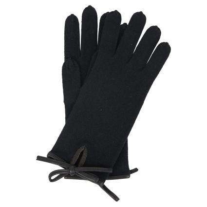Handschuhe aus reinem Kaschmir  schwarz (1025 schwarz) | 0
