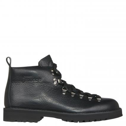 Boots aus Leder schwarz (PELLE NERA)   42