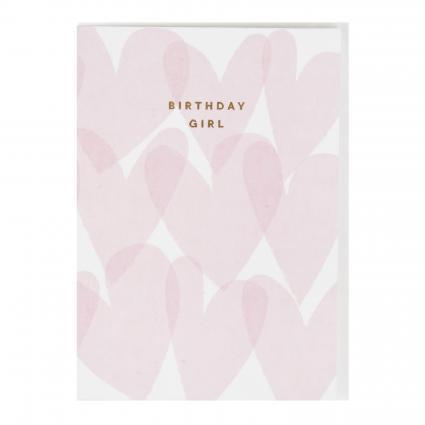 Karte 'Birthday Girl' pink (BLUSH PINK) | 0