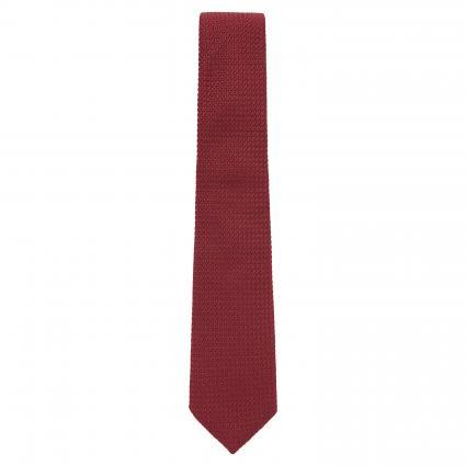 Krawatte 'Piave' mit Strukturmuster braun (6 braun ) | 0