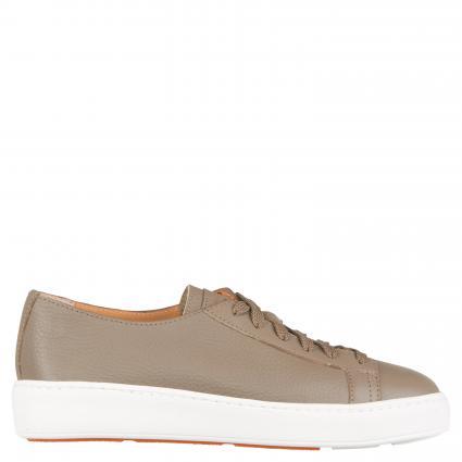 Sneaker aus Leder oliv (E80) | 39
