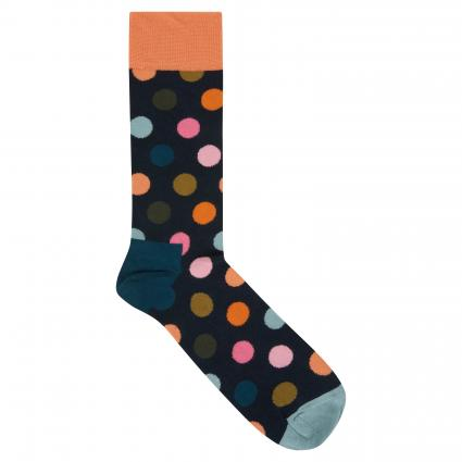 Socken mit Punktemuster blau (6006 big dot)   41-46