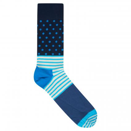 Socken mit Muster-Mix divers (066 stripe and dot sock) | 41-46