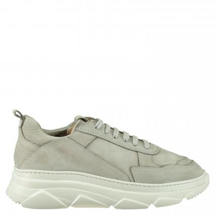 Sneaker aus Leder grau (NABUC GREY)   38