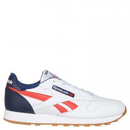 Sneaker aus Leder weiss (white) | 9