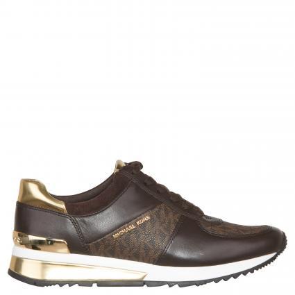 Sneaker 'Allie' mit Label-Print braun (BROWN) | 6,5