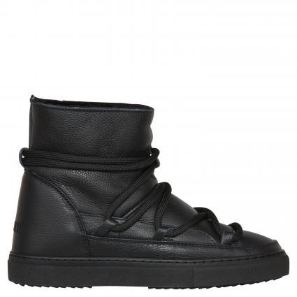 Sneaker-Boots mit Lammfell-Futter schwarz (BLACK) | 41