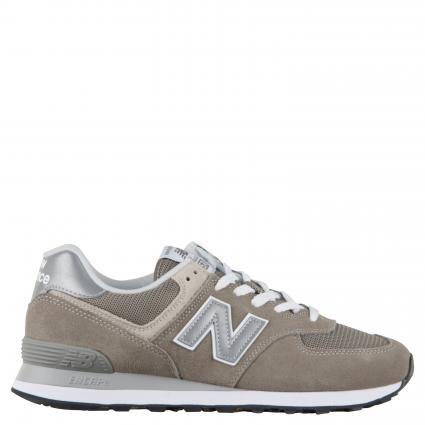 Sneaker aus Material-Mix grau (121 grey) | 9