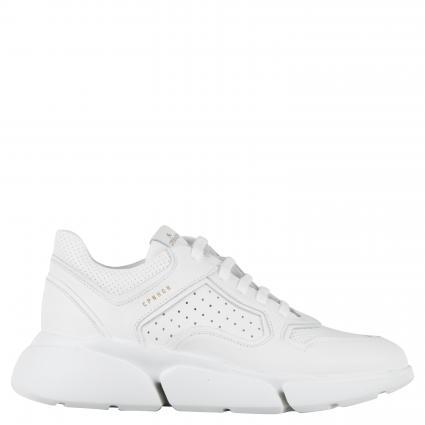 Sneaker aus Leder  weiss (WHITE) | 40