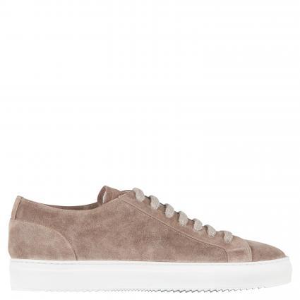 Sneaker aus Leder taupe (IM05) | 43