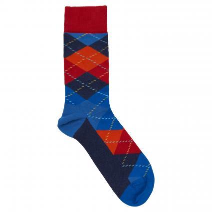 Socken mit Rautenmuster blau (6500 argyle) | 41-46