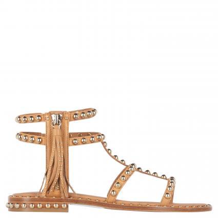 Sandalen mit Nietendetails beige (NUDE/ARIEL STUD) | 36