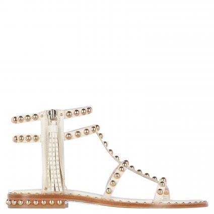 Sandalen mit Nietendetails weiss (IVORY/ARIEL STUD) | 37