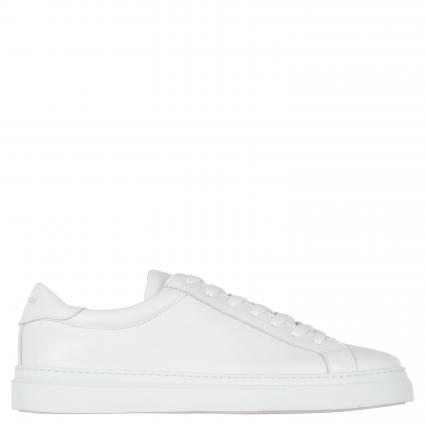 Sneaker aus Leder weiss (white) | 44