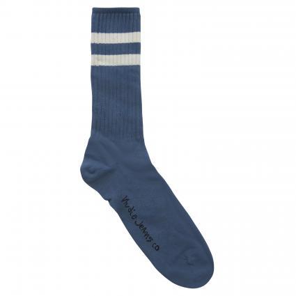 One-Size Socken 'Amundsson' blau (petrol blue)   0