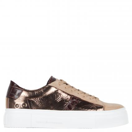 Sneaker aus Leder  divers (BRASS/LEO/BRA.S) | 6,5