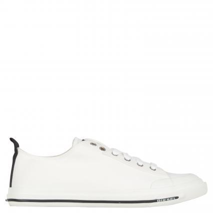 Sneaker aus Baumwolle weiss (T1015 white) | 42