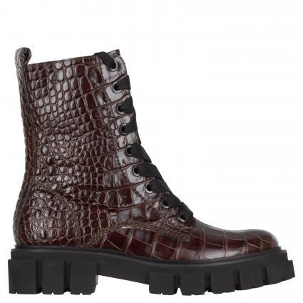 Boots aus Leder braun (BRAUN SS)   6,5