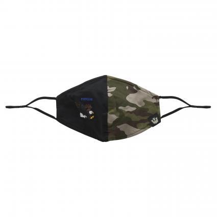 Maske mit Gummiband grau (0229 GREY) | 0