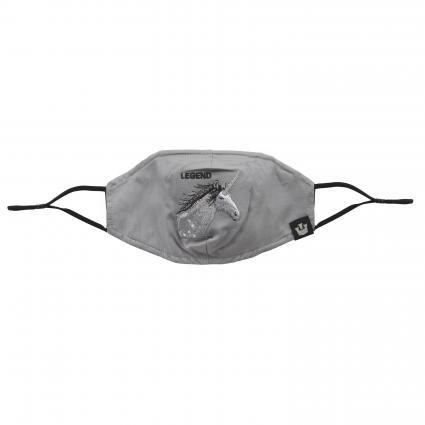 Maske mit Gummiband grau (0227 GRY) | 0