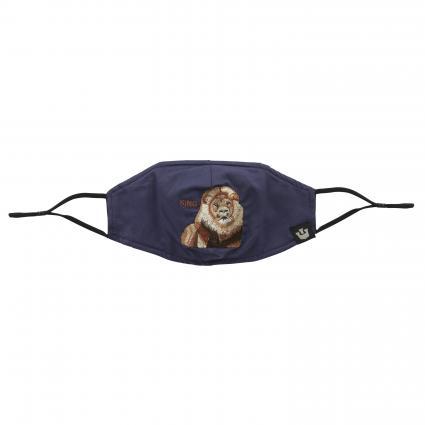 Maske mit Gummiband marine (0224 NVY) | 0