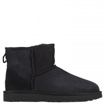 Gefütterte Boots 'Classic Mini' schwarz (BLACK) | 6