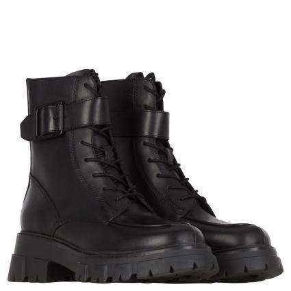 Boots zum Schnüren schwarz (MUSTANG BLACK)   39